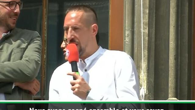 """Bayern - Ribéry : """"Je vous aime !"""""""