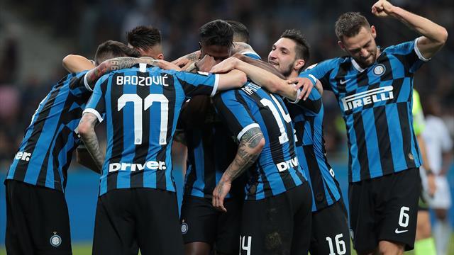 L'Inter et l'Atalanta en Ligue des champions, Empoli relégué