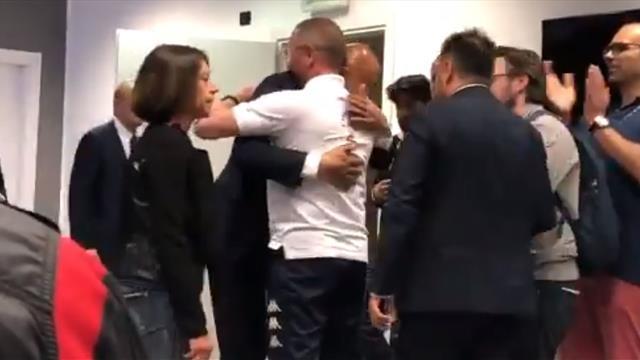 """Spalletti abbraccia Andreazzoli: """"Aurelio, mi dispiace: te la meritavi"""""""