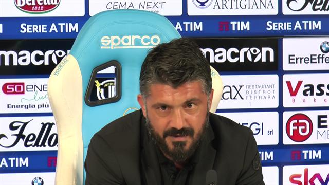 """Gattuso: """"La società non mi ha mai detto che non sono più l'allenatore del Milan"""""""
