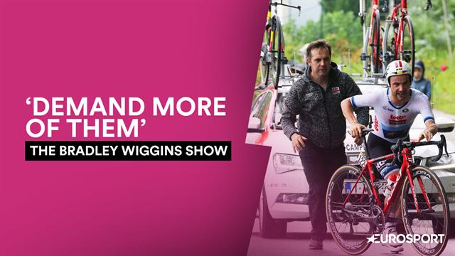 Wiggins to Campenaerts: Take control
