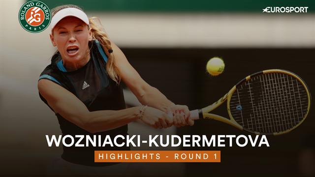 Wozniacki in eerste ronde onderuit in driesetter