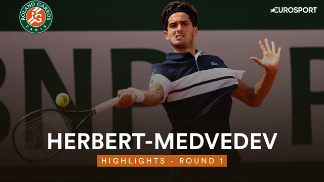 3h54 de combat et un come back de folie : Herbert s'est sublimé face à Medvedev