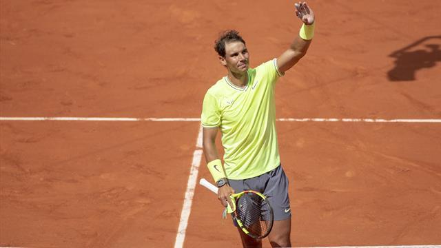 Nadal et Djoko faciles, Serena à la peine, les Bleus au rendez-vous : la journée de lundi en vidéo