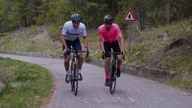Giro de Italia2019: Contador-Flecha, el pique más divertido en una espectacular subida al Mortirolo