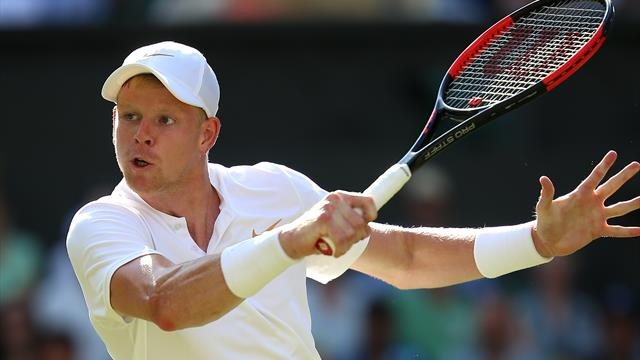 Kyle Edmund's match suspended in fifth set