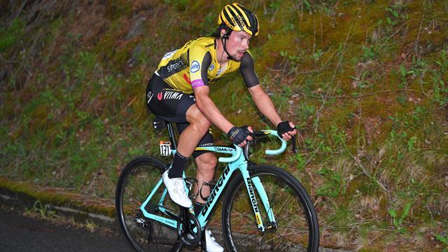 """Battu mais pas résigné, Roglic y croit encore : """"Le Giro n'est pas terminé"""""""