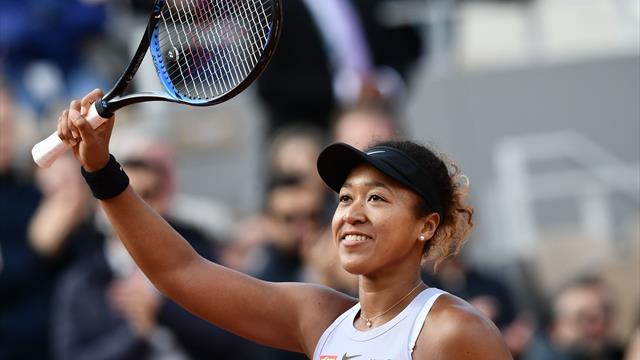 World number one Osaka completes remarkable comeback to progress