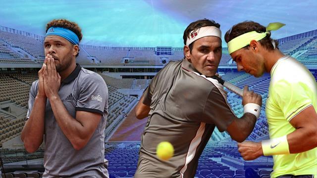 Roland-Garros: Tsonga et Gasquet pas à la fête