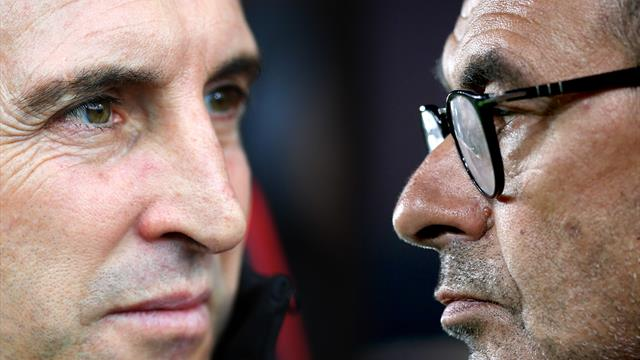 Chelsea v Arsenal preview: Sarri on shaky ground as Emery looks for familiar success