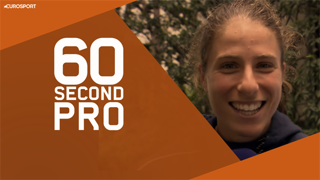 60 Second Pro - Jo Konta gives you her three tips for playing on clay