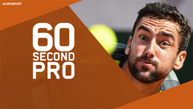 60 Second Pro - Mastering the serve with Cilic