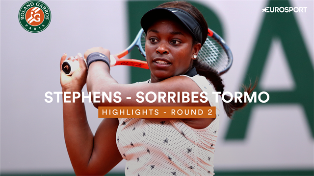 French Open 2019 women's round-up: Sloane Stephens battles through