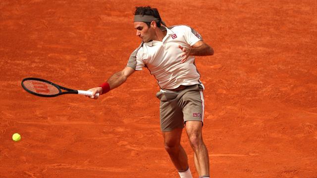 Comment finir un match avec classe ? Federer a la recette avec sa volée amortie de revers