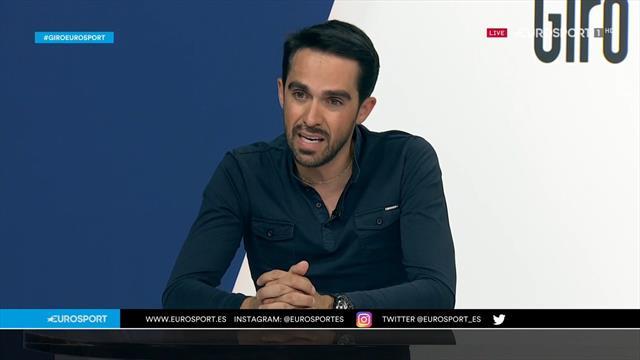 """Contador en Eurosport: """"Si Valverde corriese este Giro, estaría muy arriba"""""""