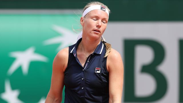 Unwell Kiki Bertens withdraws after retiring mid-match