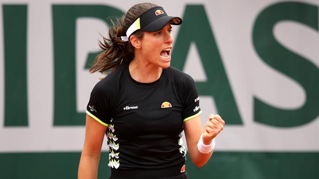 Konta battles past Davis to claim second French Open win