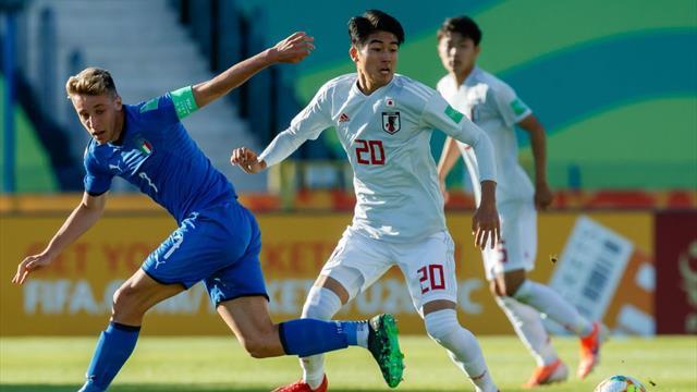 Mondiali U20, l'Italia passa ai Quarti: decide Pinamonti. 90′ per Ranieri