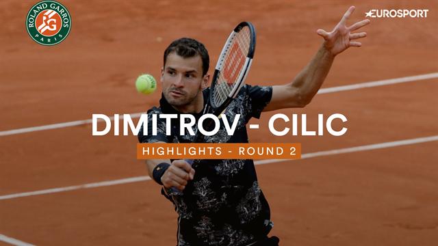 Dimitrov - Cilic : les temps forts