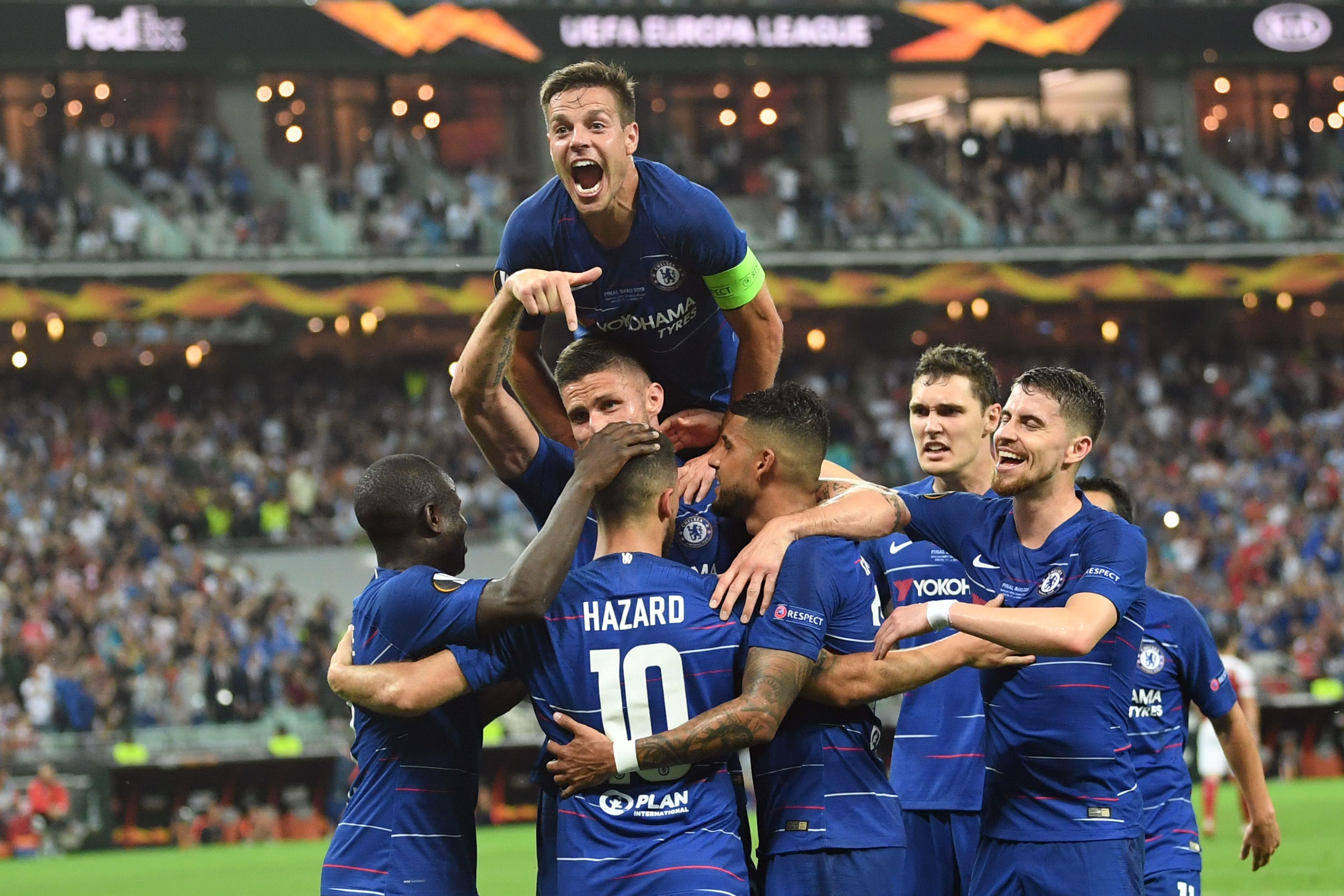 Olivier Giroud lors de la finale Chelsea-Arsenal - Europa League 2018/2019 - Getty Images
