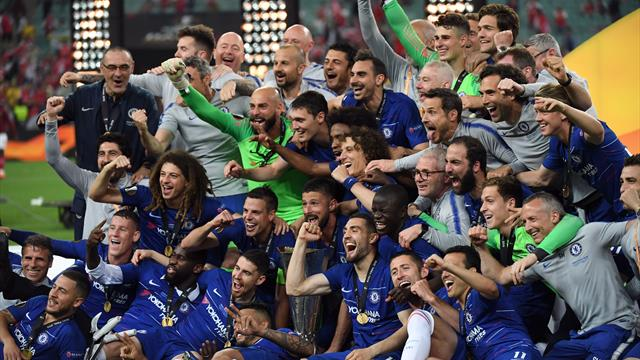 È il trionfo di Maurizio Sarri! 4-1 Chelsea al malcapitato Arsenal, ai blues l'Europa League