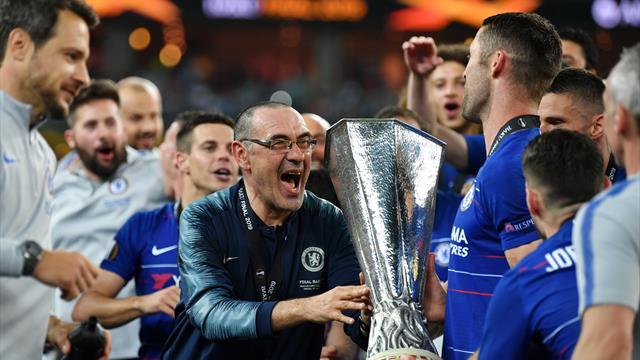 """Sarri: """"Voci sulla Juventus? Non fanno effetto. Dedico la vittoria ai napoletani"""""""