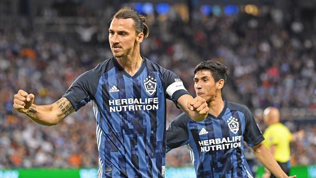 D.C. United perd deux points, Zlatan encore buteur avec LA