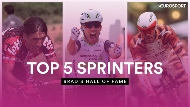 Brad's Hall of Fame - Wiggins picks his top 5 sprinters of all time