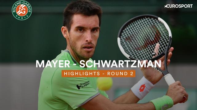 Mayer - Schwartzman : les temps forts