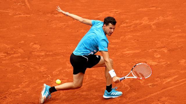 Roland-Garros : Dominic Thiem s'impose en quatre manches face au Kazakh Bublik