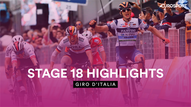 Stage 18 Highlights - Breakaway ends in thrilling finish as Cima clings on