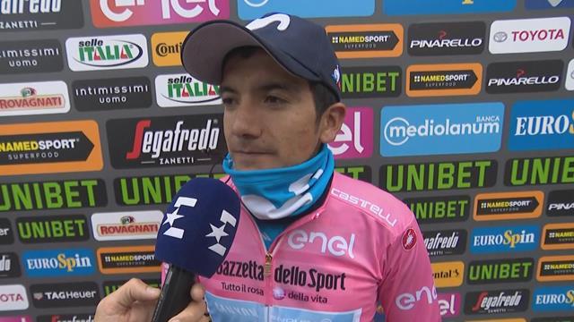 """Giro de Italia, Carapaz: """"Trataremos de defendernos de la mejora manera"""""""