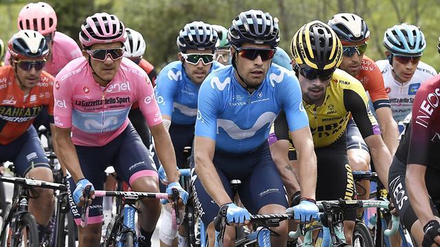 Cinq hommes, trois places, deux étapes : le Giro comme on l'aime