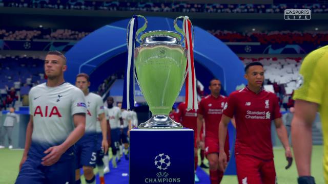 Champions Virtual: Así ha quedado la final Tottenham-Liverpool del Metropolitano