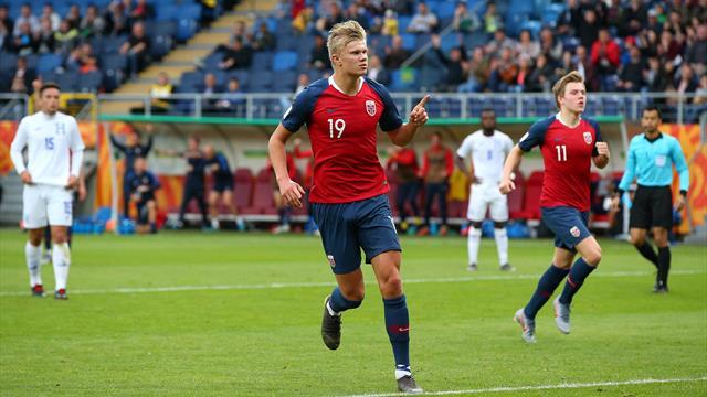 Mondial U20 : 9 buts en un match pour le Norvégien Haland