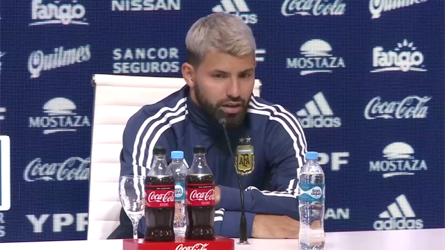 Aguero - Messi is still very motivated