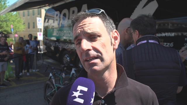Giro de Italia 2019: Entrevista a Patxi Vila, contentos con Ackermann y a por el top 10 con Majka