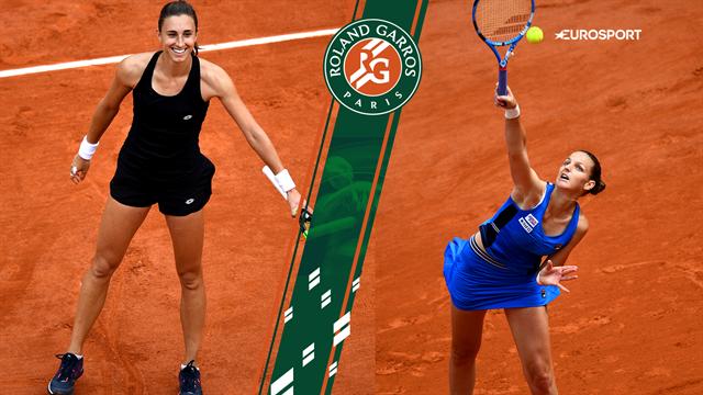 Highlights: Martic spillede favoritten Pliskova ud af Roland Garros