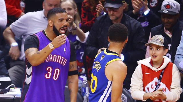 Отец Дрейка выиграл 200 тысяч долларов на победе «Торонто» в НБА
