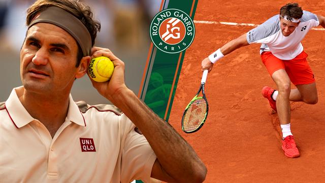 Highlights: Roger Federer kørte henover sagesløs nordmand i tre set
