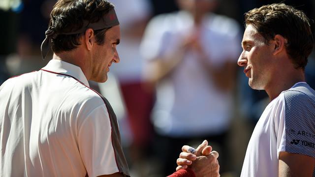 Federer videre til kvartfinale i Roland-Garros