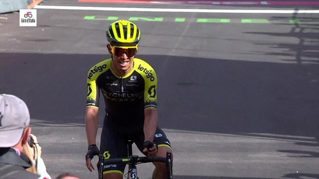 Чавес выиграл 19-й этап «Джиро», Карапасу осталось 2 этапа до победы
