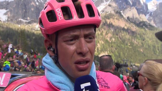 Hugh Carty: 'Het was een van de kalmste dagen deze Giro.'