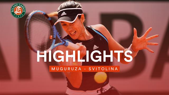 Überzeugender Auftritt: Muguruza darf weiter vom zweiten Titel träumen