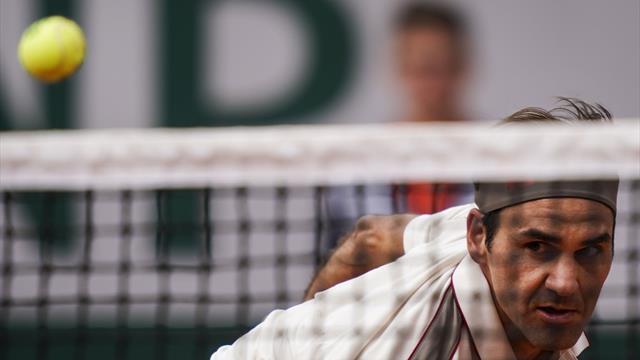 """Federer : """"Je ne sais pas exactement où se situe mon niveau maximum"""""""