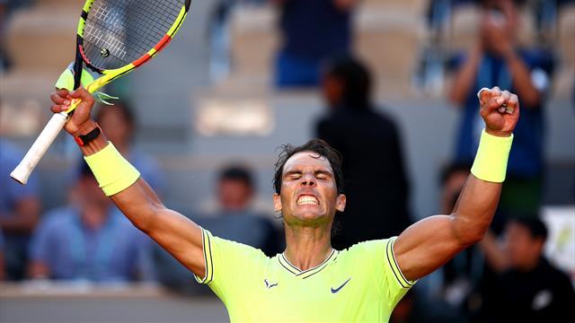 """""""Nadal est très agressif dès le début car il a compris qu'il était moins endurant qu'avant"""""""