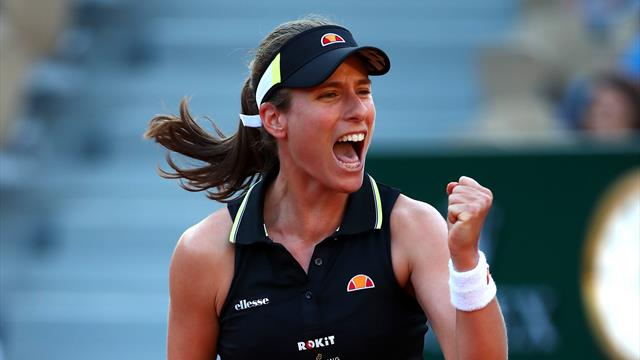 Ruthless Konta becomes first British woman to reach last 16 since 1983