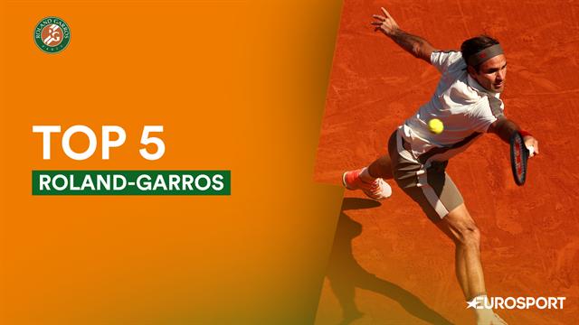 Le top 5 points de vendredi : Nadal maître de l'amortie, Federer avait des yeux dans le dos !
