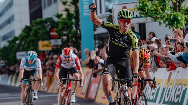 Edoardo Affini claims first pro win at Tour of Norway