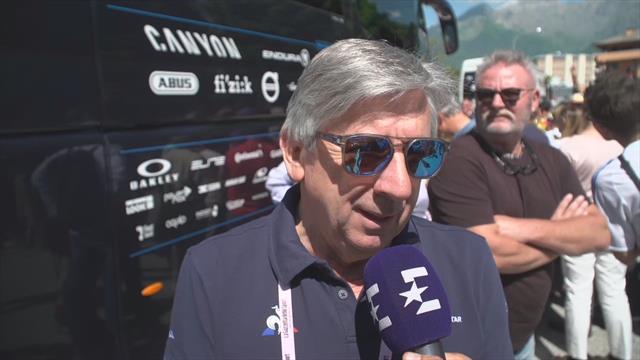 Giro de Italia 2019, entrevista a Eusebio Unzué antes de la 20ª etapa: Confía mucho en Carapaz